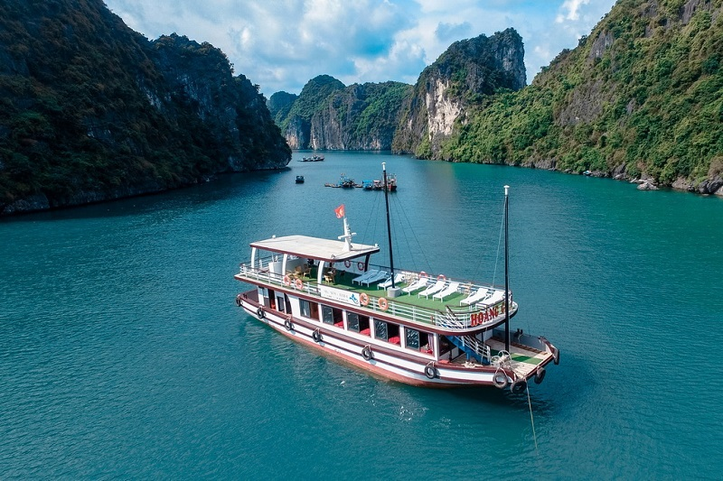 Arcady Cruise - Halong - Lan Ha - Catba - 01 Day